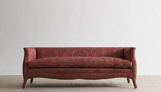 A Standard high back French style sofa