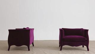 A Standard pair of french Style Armchairs