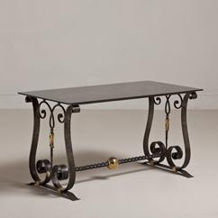 A Cast Iron Table in the Manner of Piquet circa 1925