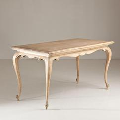 A French Cabriole Leg Rectangular Table circa 1850