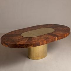 A Large Paul Evans Designed Extendable Dining Table circa 1970