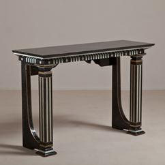 A Maitland Smith Neoclassical Inspired Console Table 1980s