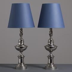 A Pair of Stiffel Designed Table Lamps USA 1950s