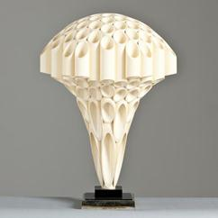 A Stunning Rare Mushroom Shaped Rougier Lamp 1970s