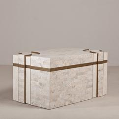 A Superb Rare Tessellated Stone Robert Marcius Chest 1980s
