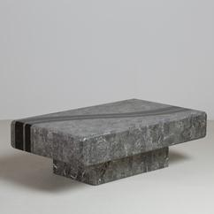 A Tessellated Stone Coffee Table by Maitland Smith 1980s