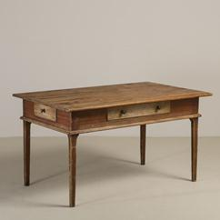 An Early 19th Century Swedish Library Table