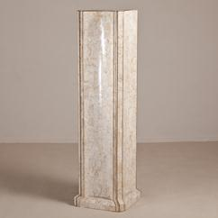 An Unusual Tessellated Stone Pedestal by Maitland Smith 1970s