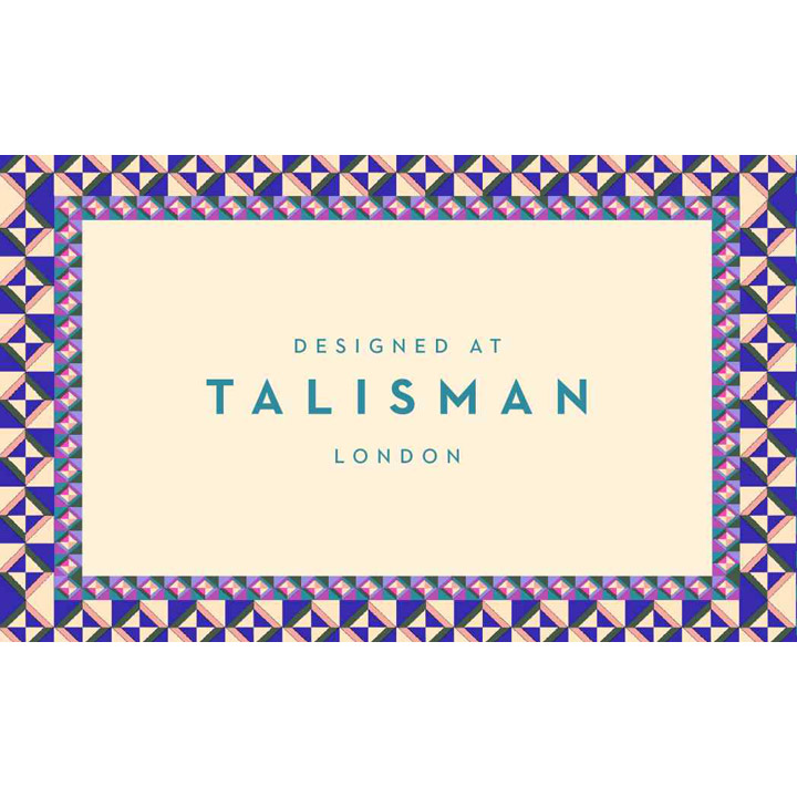 DESIGNED AT TALISMAN at the London Design Festival 2017
