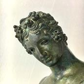 A 19th Century Italian Bronze Figure of Narcissus Alternate image