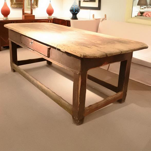 A 19th Century Swedish Dining Table
