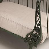 A Converted 19th Century French Cast Iron Dog Bed Alternate image