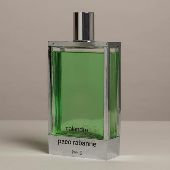 A Large Scent Bottle titled Paco Rabanne 1970s France