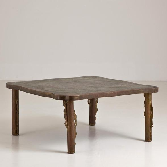 A Philip and Kelvin LaVerne Coffee Table 1960s