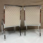 A Set of Six Dining Chairs by Milo Baughman 1970s Alternate image