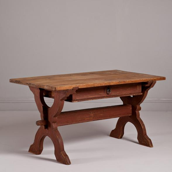 A Swedish Baroque Centre Table circa 1750
