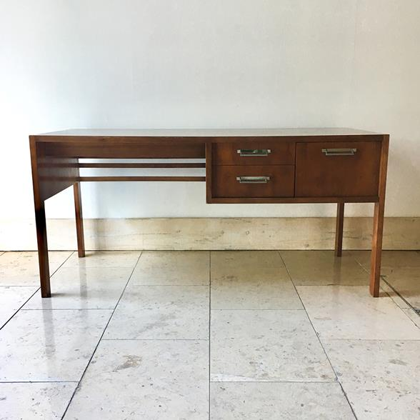 A Walnut Desk by Baker 1960s