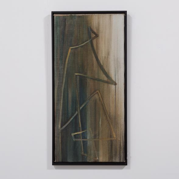 An Abstract Painting by Hans Richter, Oil on Canvas