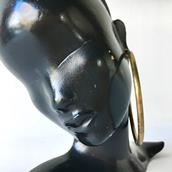 An Art Deco Bronze Mask by Hagenauer Stamped Alternate image