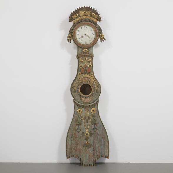 An Exceptional Swedish Marriage Clock Circa 1780s