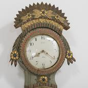 An Exceptional Swedish Marriage Clock Circa 1780s Alternate image