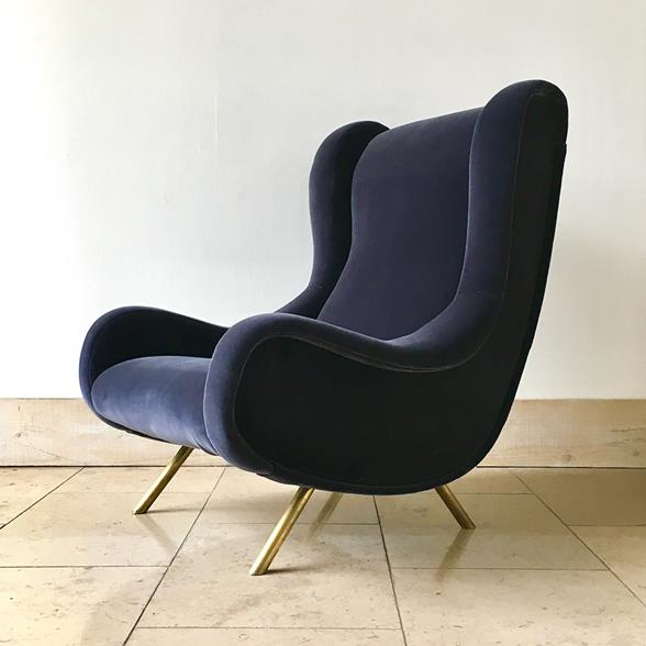 Early Marco Zanuso designed Senior Armchair circa 1950