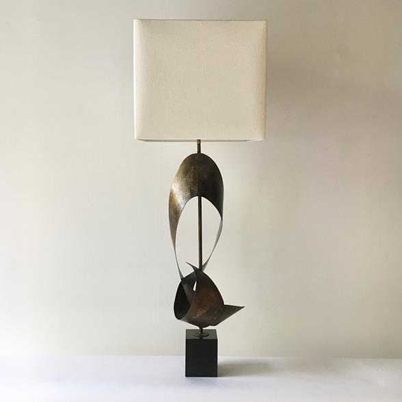 Impressive Large Scale Harry Balmer for Laurel Table Lamp 1960s
