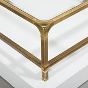 Mastercraft Brass Coffe Table 1970s Alternate image