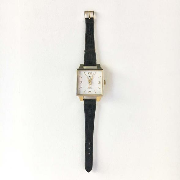 Oversized Silicon Clock Wrist Watch Wall Clock 1970s