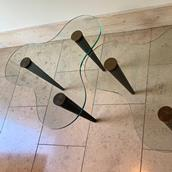 Pair of Biomorphic Side Tables in the manner of Gilbert Rohde Alternate image