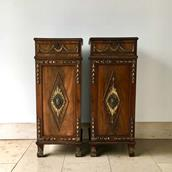 Pair of Irish Regency Mahogany Pedestals circa 1820 Alternate image