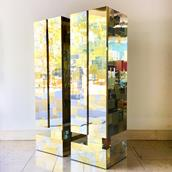 Pair of Totem Cityscape Cabinets by Paul Evans 1970s main image