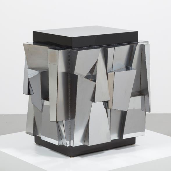 Paul Evans designed Chrome Cabinet 1970