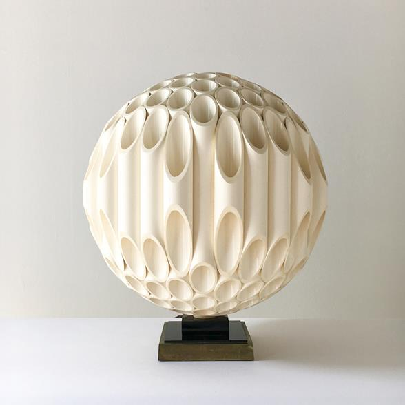 Rare Spherical Rougier designed Table Lamp late 1970s