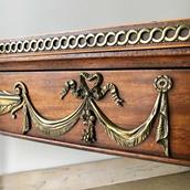 Regency Mahogany Irish Console Table circa 1820  Alternate image