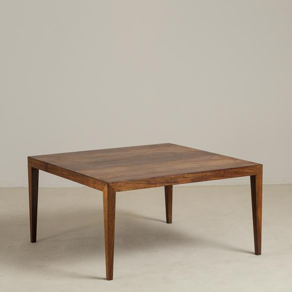 Severin Hansen Danish Rosewood Coffee Table circa 1955