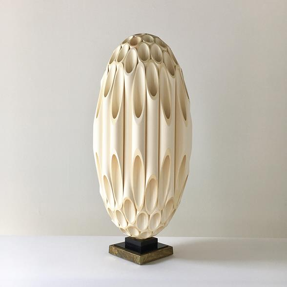 Single Ovoid Rougier designed Table Lamp Late 1970s
