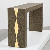 The Crackle Console Table by Talisman Bespoke  Alternate image