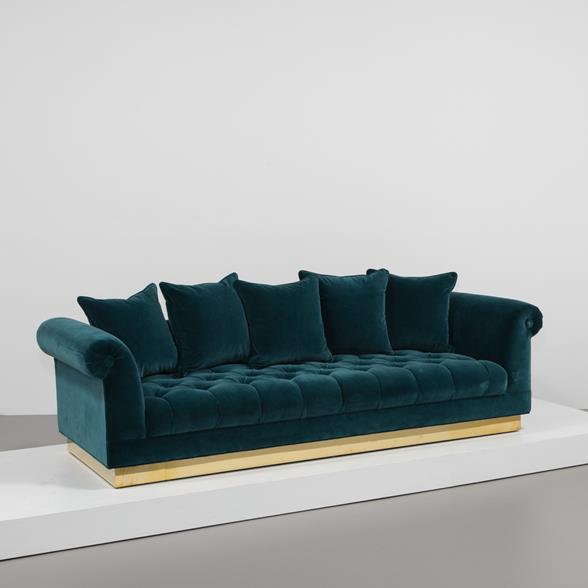 The Deep Buttoned Sofa by Talisman Bespoke