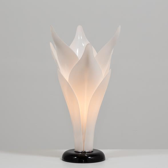 Tulip Lamp attributed to Rougier late 1970s